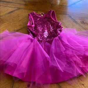 Girls Zoe LTD sequined/tulle dress sz.5